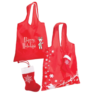 Stocking Folding Tote