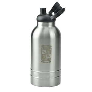 Double Wall Stainless Steel Vacuum Growler - 64 oz