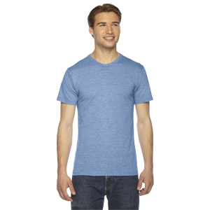 American Apparel® Unisex Triblend Short-Sleeve Track T-Shirt