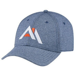 Polyester Heather & Spandex Baseball Cap