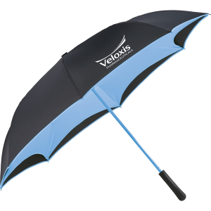"48"" Colorized Manual Inversion Umbrella"
