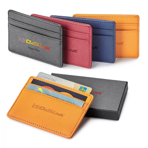 Toscano Genuine Leather RFID Card Holder