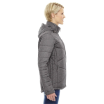 North End Ladies' Avant Tech Melange Insulated Jacket with Heat Reflect Technology